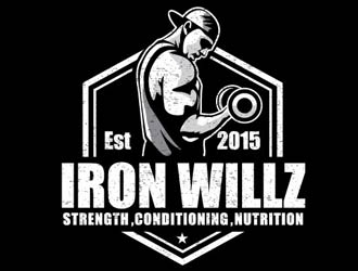 IRON WILLZ logo design
