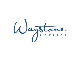 Waystone Capital  logo design