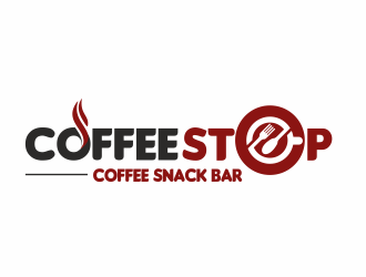 Coffee Snack Bar logo design