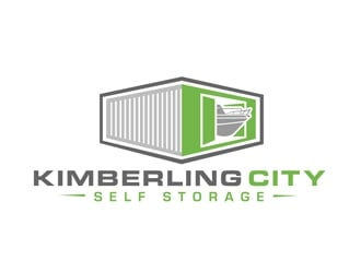 Kimberling City Self Storage logo design
