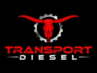 Transport Diesel logo design