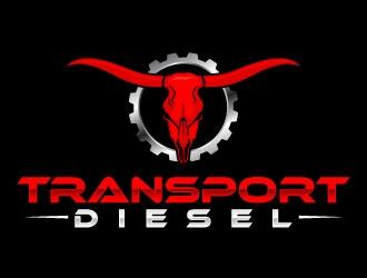 Transport Diesel logo design
