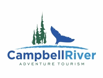 Campbell River Adventure Tourism logo design
