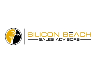 Silicon Beach Sales Advisors logo design