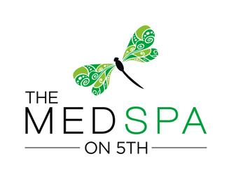 the MEDSPA on 5th logo design
