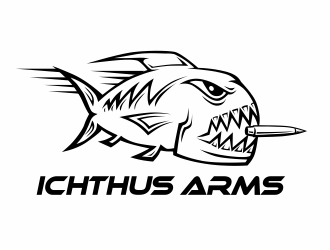 Ichthus Arms logo design