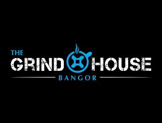 Grind House Bangor logo design