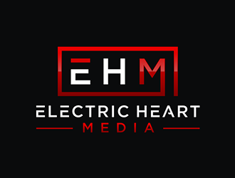 Electric Heart Media logo design