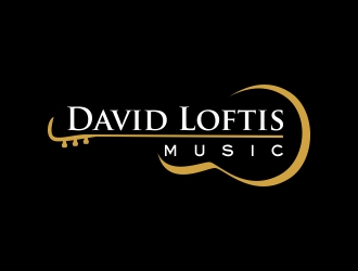 David Loftis Music logo design