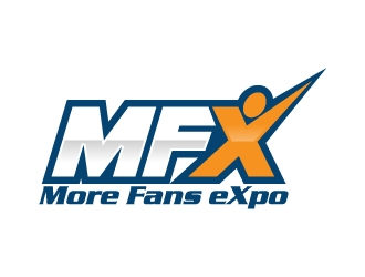 MFX (More Fans eXpo) logo design