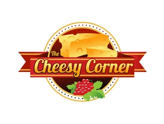 The Cheesy Corner logo design