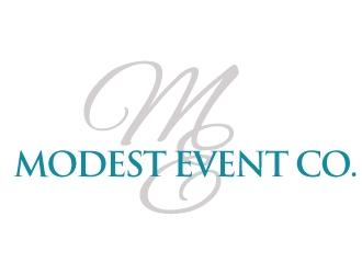 Modest Event Co. logo design