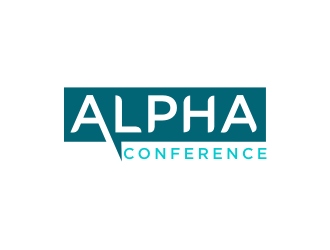 AngelMD is the company; Alpha Conference is the logo we want to create logo design