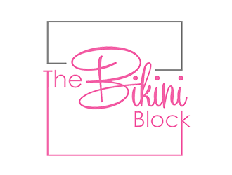 The Bikini Block  logo design