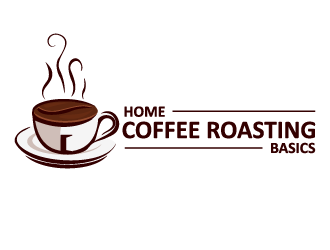 Home Coffee Roasting Baiscs logo design