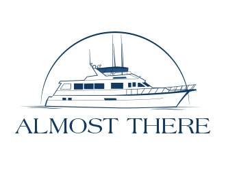 Almost There logo design