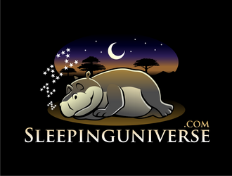 sleepinguniverse.com logo design