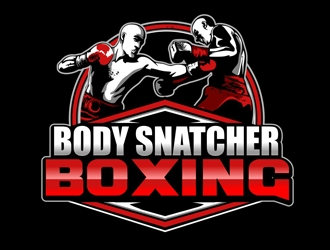 body snatcher boxing Logo Design