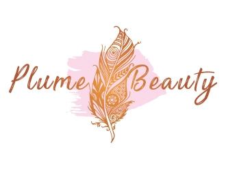 Plume Beauty  logo design