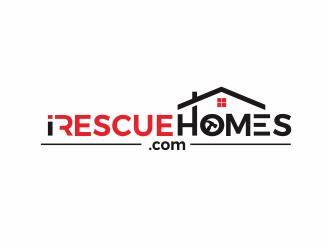 I Rescue Homes logo design