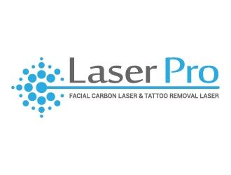 Laser Pro logo design