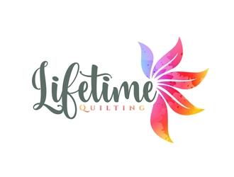 Lifetime Quilting logo design