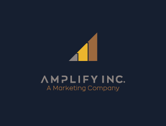 Amplify Inc. logo design