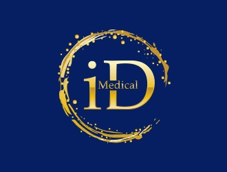 iD Medical  logo design