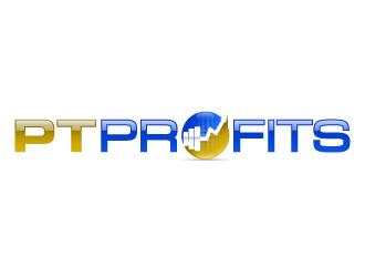 PT Profits logo design
