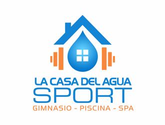 La Casa del Agua Sport logo design