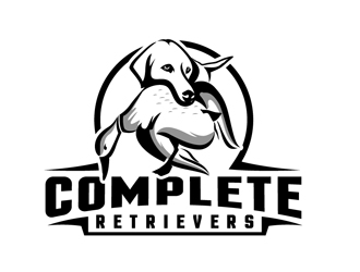 Complete Retrievers logo design