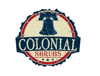 Colonial Shrubs logo design