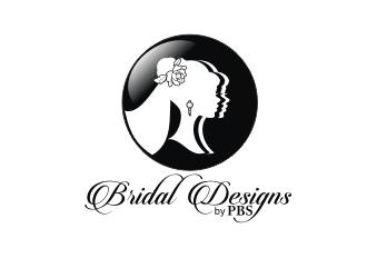 Bridal Designs by PBS logo design