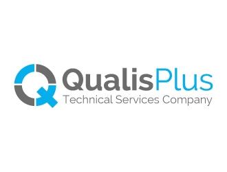 Qualis Plus logo design