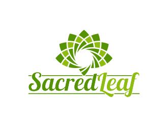 Sacred Leaf logo design