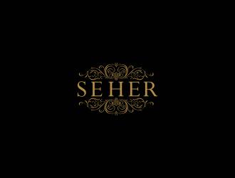 SEHER BRIDALS logo design