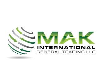 MAK INTERNATIONAL GENERAL TRADING LLC logo design