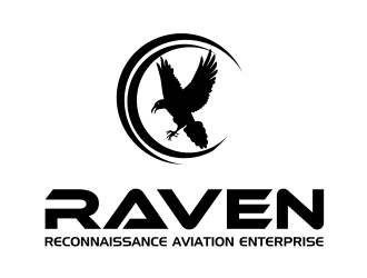 RAVEN (Reconnaissance Aviation Enterprises) logo design