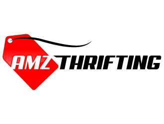 AMZTHRIFTING logo design