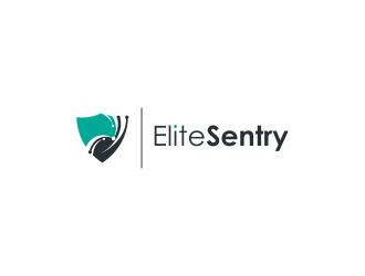 EliteSentry logo design