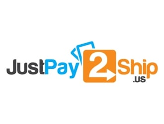 JustPay2Ship.us logo design