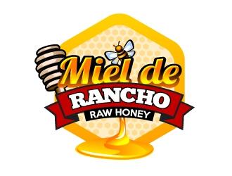 Miel de Rancho logo design