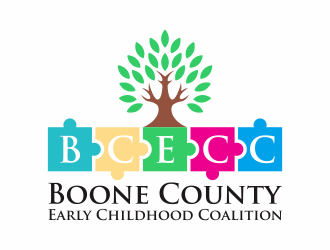 Boone County Early Childhood Coalition  (BCECC) logo design