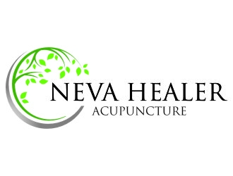 Neva Healer Acupuncture logo design