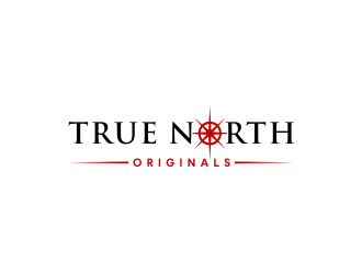 True North Originals  logo design