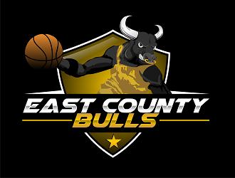Lakeside Bulls logo design