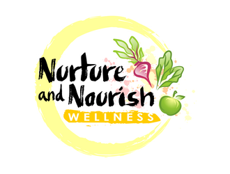 Nurture and Nourish Wellness  logo design