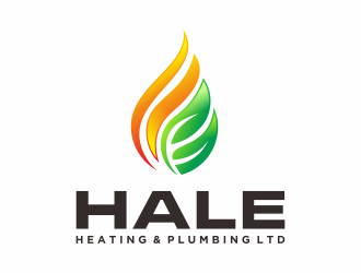 Hale Haeating & Plumbing Ltd logo design