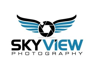 Sky View Photography logo design