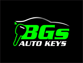 BGs Auto Keys logo design